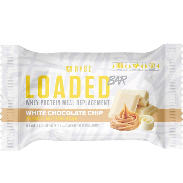 Ryse Supps Loaded Protein Bar White Chocolate Chip
