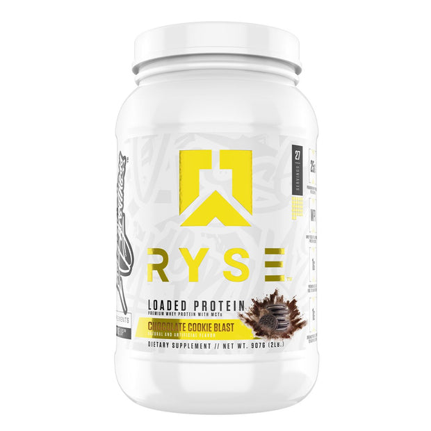 Ryse Supps Loaded Protein Powder Supplement Chocolate Cookie Blast