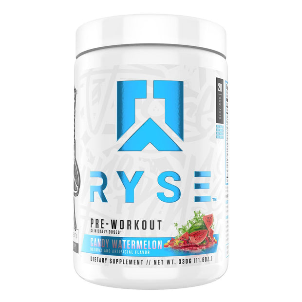 Ryse Supps Pre Workout Supplement Candy Watermelon