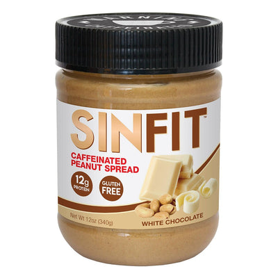 SINFIT Caffeinated or Non Caffeinated Butter Spreads White Chocolate