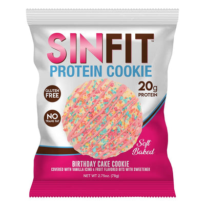 SinFit Protein Cookie Birthday Cake