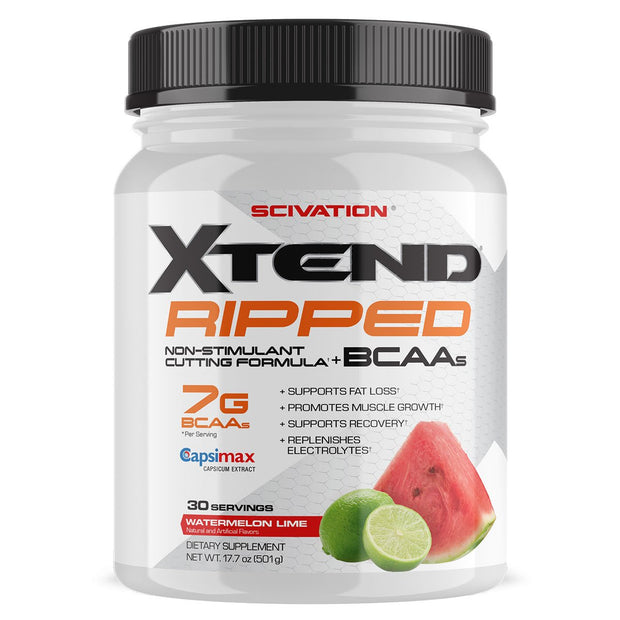 Scivation Xtend Ripped BCAA Watermelon Lime