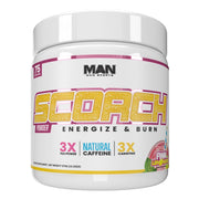 MAN Sports Scorch Fat Burning Powder Supplement Pink Lemonade
