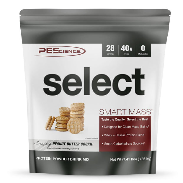 PEScience Select Smart Mass Weight Gainer Peanut Butter