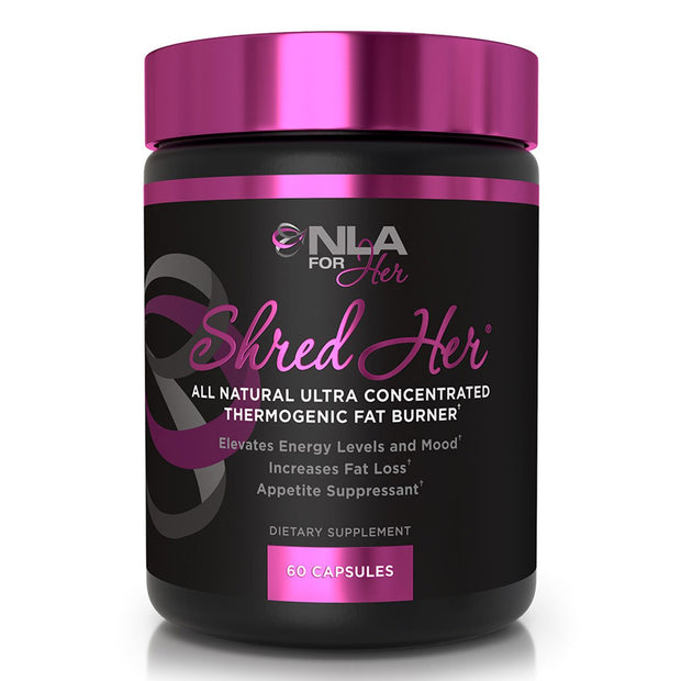 NLA for Her Shred Her Fat Burner Female Supplements