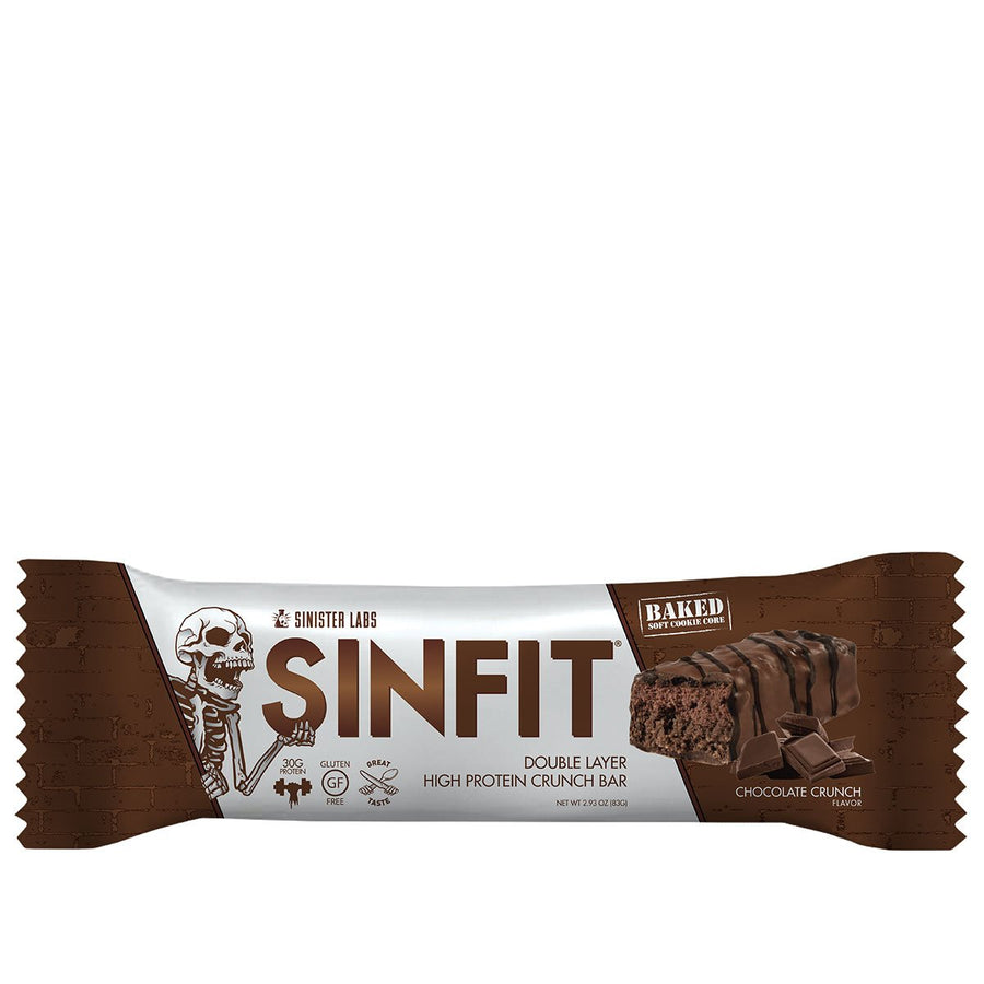 Sinister Labs SINFIT Protein Bar Peanut Butter Crunch