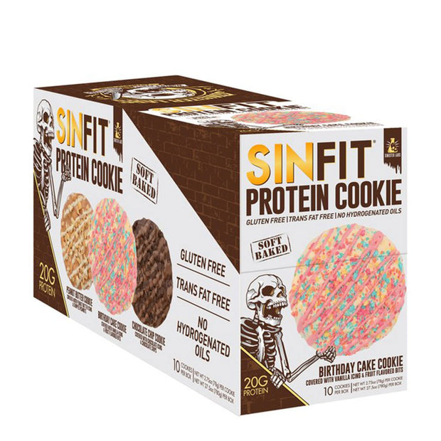 Sinister Labs SINFIT Protein Cookie Birthday Cake