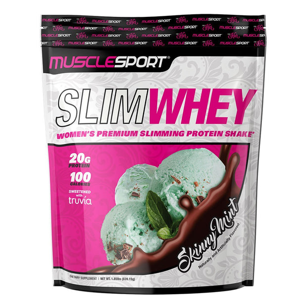 Musclesport Slimwhey Protein for Women Skinny Mint