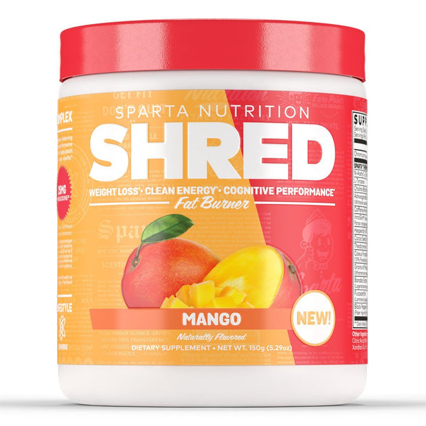 Sparta Nutrition Shred Fat Burner Mango