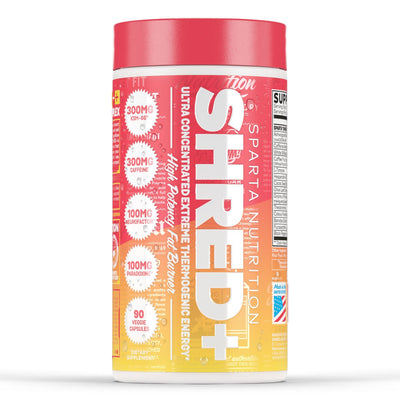 Sparta Nutrition Shred + Fat Burner