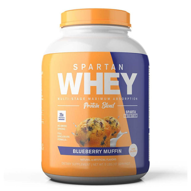 Sparta Nutrition Spartan Whey Protein Blueberry Muffin