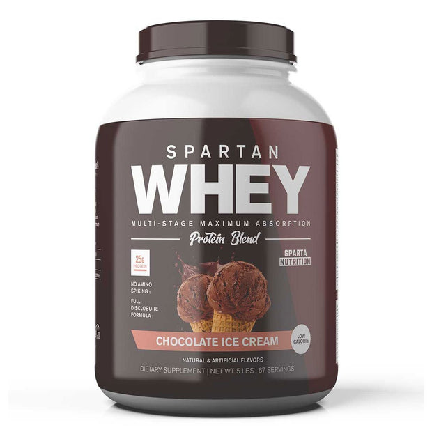 Sparta Nutrition Spartan Whey Protein Chocolate Ice Cream