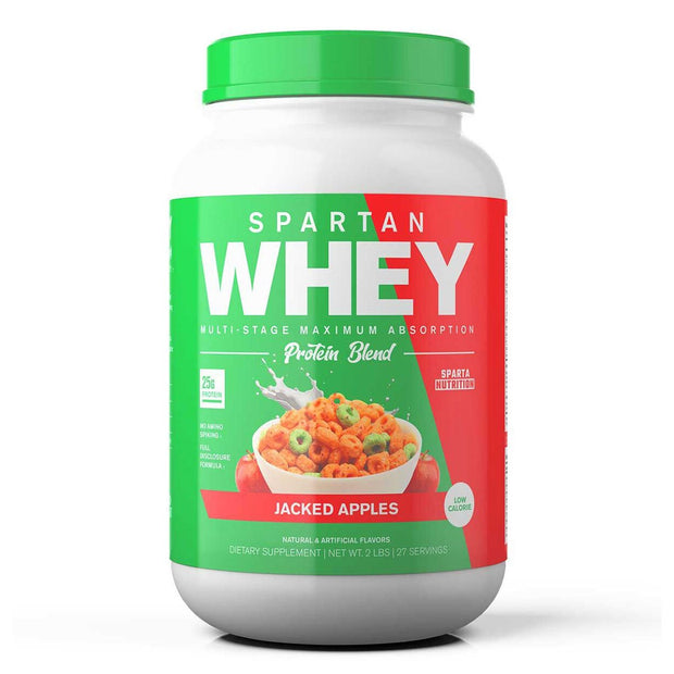 Sparta Nutrition Spartan Whey Protein Apple Jacks