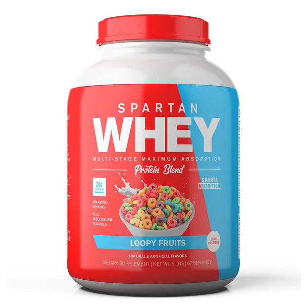 Sparta Nutrition Spartan Whey Protein Loopy Fruits