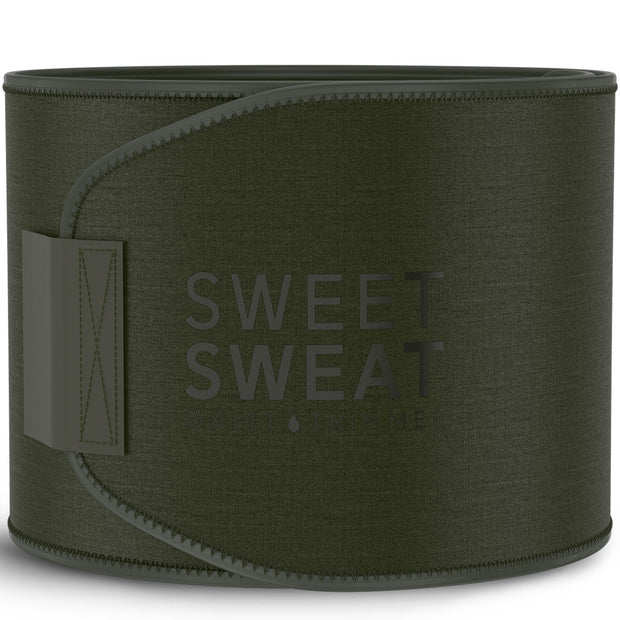 Sports Research Sweet Sweat Waist Trimmer Army Green