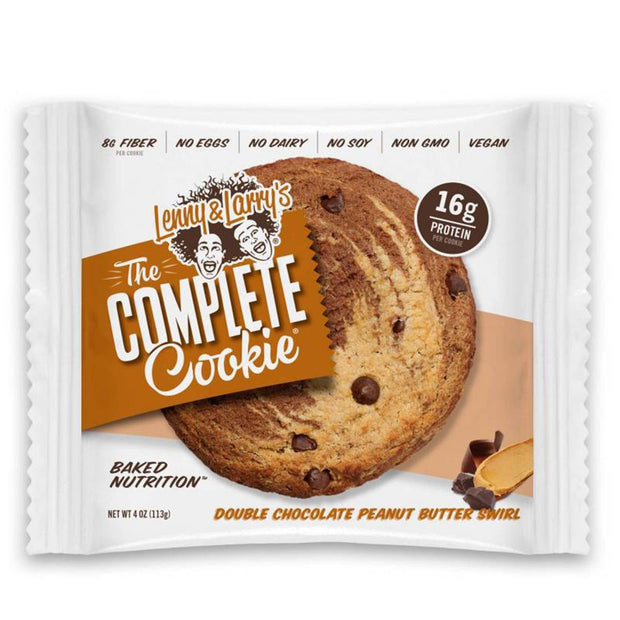 Lenny and Larry's The Complete Cookie Double Chocolate Peanut Butter Swirl
