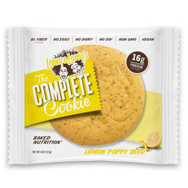 Lenny and Larry's The Complete Cookie Lemon Poppy Seed