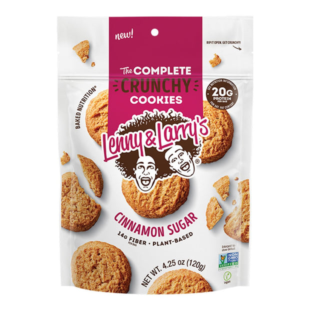 Lenny and Larrys The Complete Crunchy Cookie Cinnamon Sugar