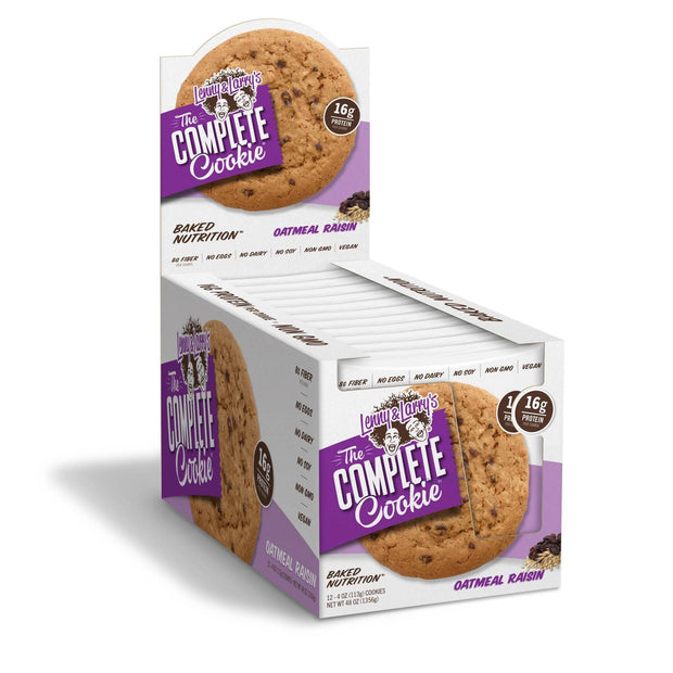 Lenny and Larry's The Complete Cookie Oatmeal Raisin