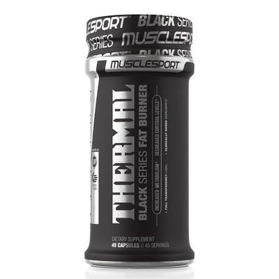 Musclesport Thermal Black Fat Burner