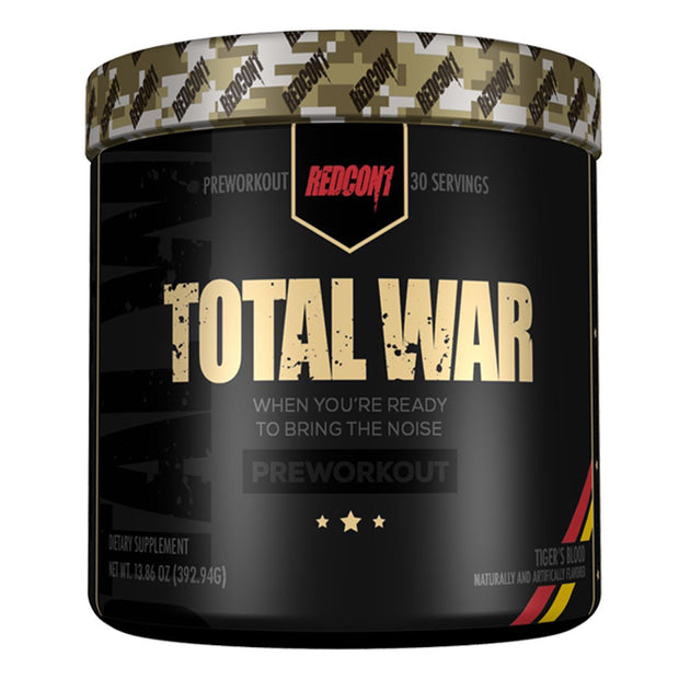 Redcon1 Total War Pre Workout Tigers Blood