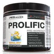PEScience PES Prolific Pre Workout Supplement Tropical Twist