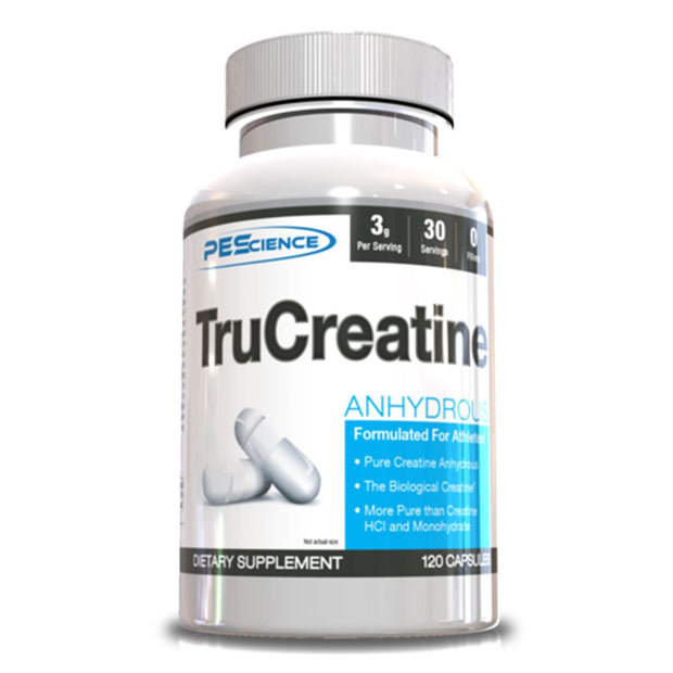 PEScience TruCreatine Plus 120 Capsules