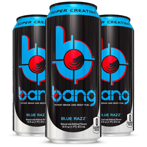 VPX BANG Energy Drink Blue Razz