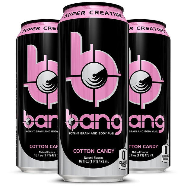 VPX BANG Energy Drink Cotton Candy