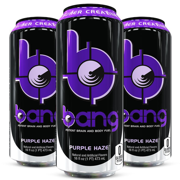 VPx BANG Energy Drink Purple Haze