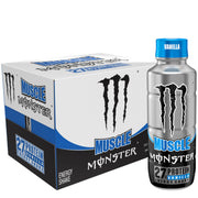 Monster Energy Muscle Monster Protein Energy Shake Bottle Vanilla