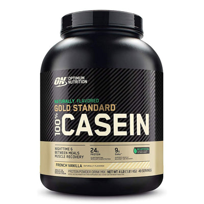 ON Optimum Nutrition Naturally Flavored Gold Standard 100% Casein Protein Powder Supplement Vanilla