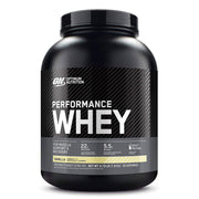 ON Optimum Nutrition Performance Whey Protein Powder Supplement Vanilla