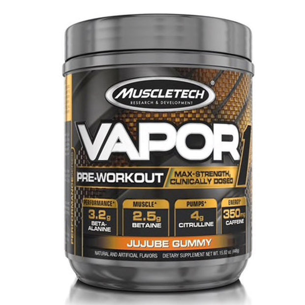 Muscletech Vapor1 Pre Workout Jujube Gummy