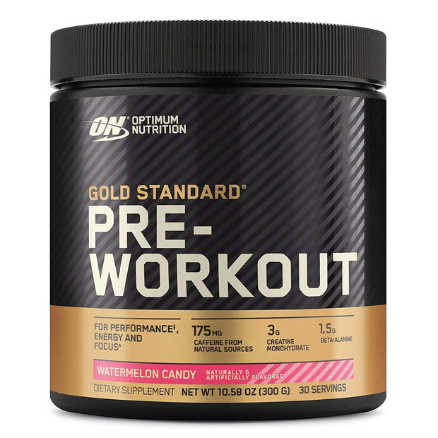 ON Optimum Nutrition Gold Standard Pre Workout Powder Supplement Watermelon Candy