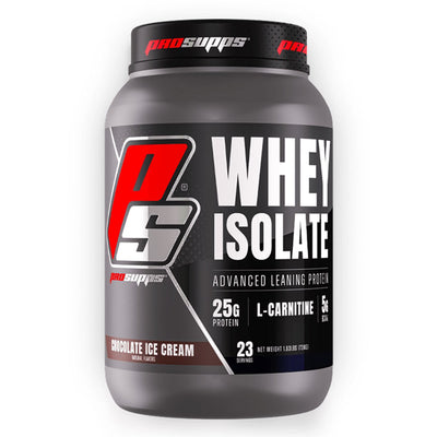 Pro Supps Whey Protein Isolate Powder Chocolate Ice Cream