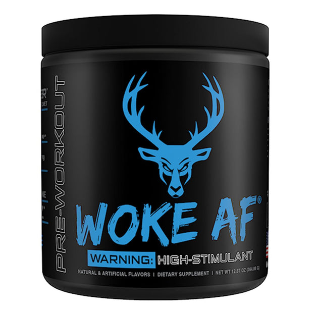 Bucked UP Supplements Woke AF Pre Workout Blue Raz
