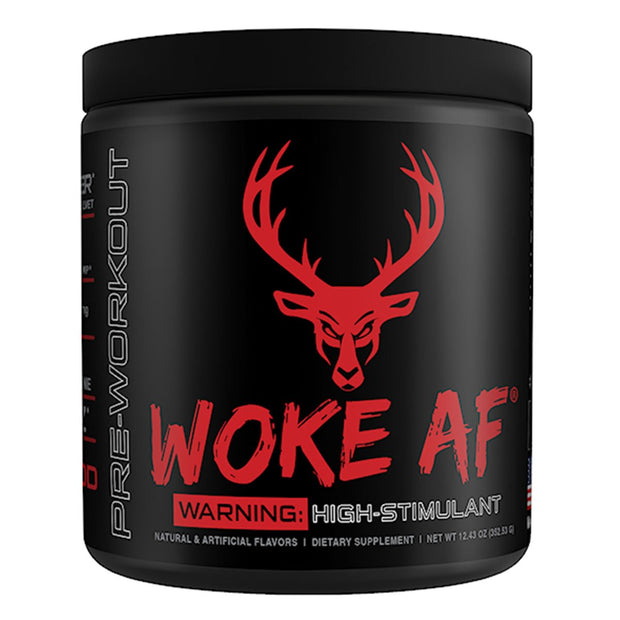 Bucked UP Supplements Woke AF Pre Workout Red Raz