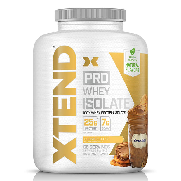 Scivation Xtend Pro Whey Isolate 100% Isolate Protein Cookie Butter