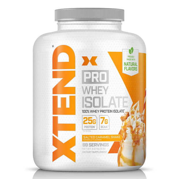Scivation Xtend Pro Whey Isolate 100% Isolate Protein Salted Caramel Shake