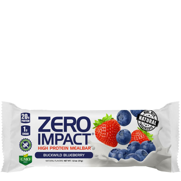 VPx Zero Impact Protein Bar Buckwild Blueberry