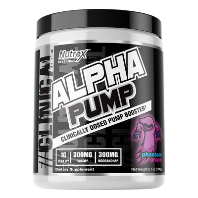 Nutrex Alpha Pump Phantom Grape