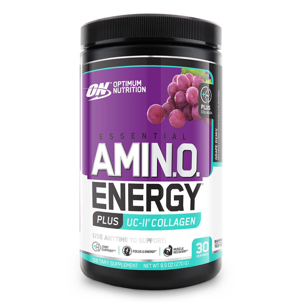 Optimum Nutrition Essential Amino Energy plus Collagen Grape Remix