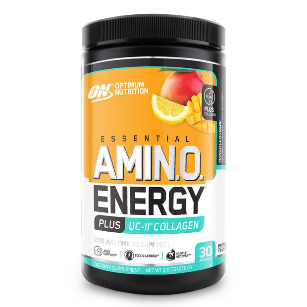 Optimum Nutrition Essential Amino Energy plus Collagen Mango Lemonade
