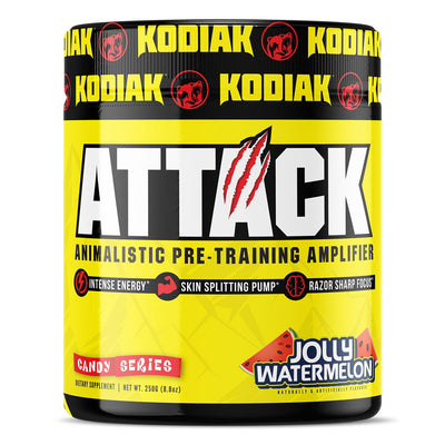 Kodiak Supplements Attack Pre Workout Jolly Watermelon