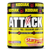 Kodiak Supplements Attack Pre Workout Starpunch