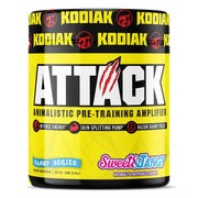 Kodiak Supplements Attack Pre Workout Sweet and Tangy