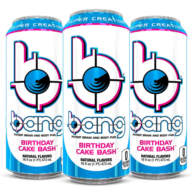 Bang Energy Drink Birthday Cake Bash