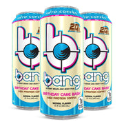 BANG Energy Keto Coffee Birthday Cake Bash