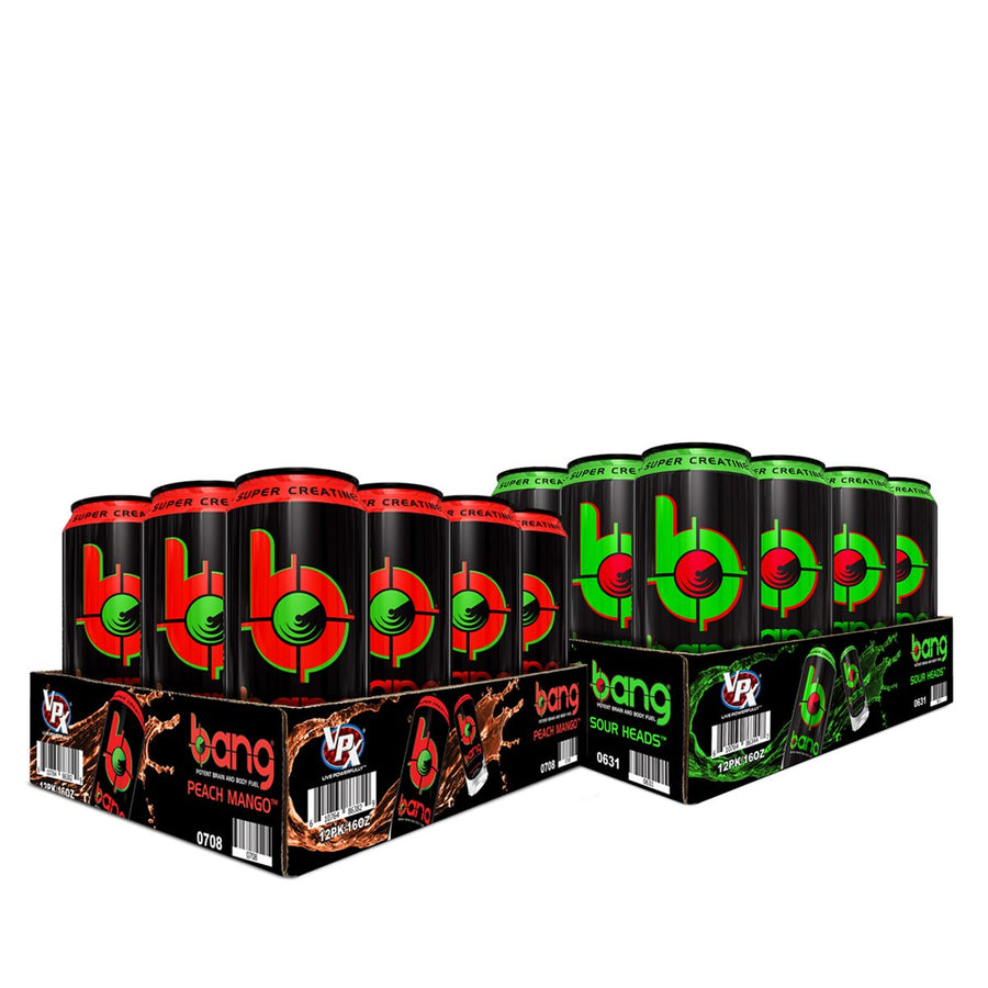 BANG Energy Drink VPX Cherry Blade Lemonade Purple HAze